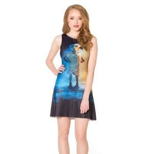 Black Milk Harry Potter women S Dobby skater dress
